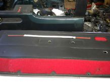 peugeot 205 cti front door cards in red